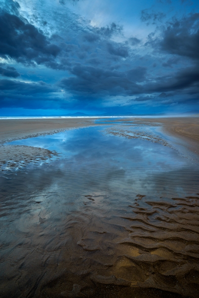 Sand ripples, Harlech Beach