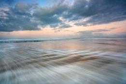 Christmas dawn, Harlech Beach