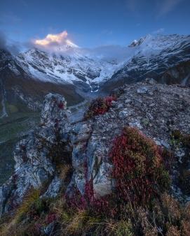 Langtang Lirung, Nepal